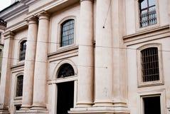 La chiesa a Leopoli Fotografia Stock