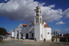 La chiesa moderna Nicosia Fotografie Stock Libere da Diritti