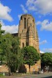La chiesa nell'università di Manchester Fotografia Stock