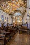La chiesa Nossa Senhora fa la chiesa Sao Paulo del Brasile Fotografia Stock
