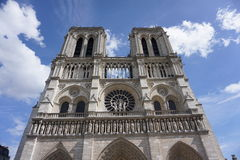 La chiesa in Notre Dame fotografie stock libere da diritti