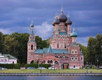La chiesa ortodossa Fotografia Stock Libera da Diritti