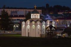 La chiesa ortodossa in Bielorussia Fotografia Stock