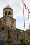 La chiesa ortodossa georgiana antica in Mtskheta immagini stock