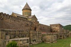 La chiesa ortodossa georgiana antica in Mtskheta fotografia stock