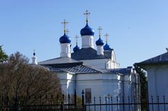 La chiesa ortodossa in Klin nella regione di Mosca Fotografie Stock Libere da Diritti