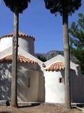 La chiesa ortodossa orientale in Panagia Kera Immagini Stock Libere da Diritti