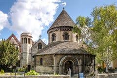 La chiesa rotonda del sepolcro santo, Cambridge Fotografia Stock