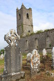 La chiesa rovina l'Irlanda Fotografia Stock