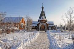La chiesa russa fotografie stock libere da diritti