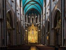 La chiesa sacra del cuore a Bilbao Spagna Chiesa di Sagrado Corazon fotografia stock libera da diritti