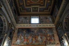La chiesa San Marcello al Corso a Roma Fotografia Stock