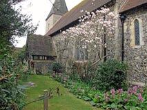 La chiesa Seaford di St Leonard fotografia stock libera da diritti