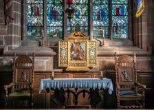 La chiesa si altera Fotografia Stock
