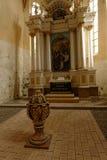 La chiesa si altera, giumenta di Copsa, Romania Fotografia Stock Libera da Diritti