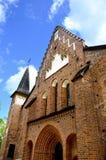 La chiesa Sigtuna Svezia di St Mary fotografia stock libera da diritti