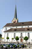 La chiesa a Stans Fotografia Stock Libera da Diritti