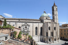 La chiesa stile gotica di San Francesco Fotografie Stock