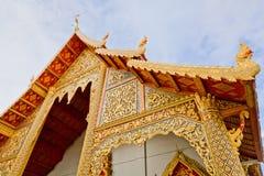 La chiesa tailandese di stile Fotografie Stock