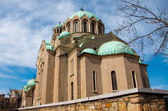 La chiesa in Veliko Tarnovo Immagine Stock