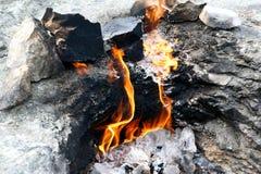 La chimère pour toujours brûlante allume le plan rapproché photos libres de droits