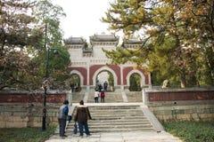 La Chine, Asie, Pékin, le temple parfumé de Œthe de ¼ d'ï de parc de colline d'Azure Clouds Images libres de droits