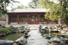 La Chine, Asie, Pékin, le temple parfumé de Œthe de ¼ d'ï de parc de colline d'Azure Clouds Photographie stock libre de droits