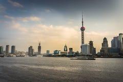 La Chine Changhaï Lujiazui Photographie stock