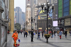 La Chine Chongqing GUCCI stockent Photographie stock libre de droits