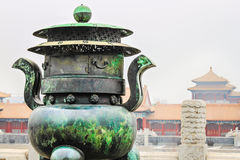 La Chine, Cité interdite Images libres de droits