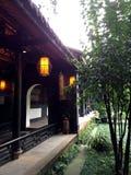 La Chine des bâtiments antiques Photos libres de droits