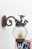 La Chine Dragon Lamp Photos libres de droits
