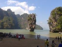 La Chine et île de James Bond Photos stock