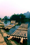 La Chine, Guilin, fleuve Li Images stock