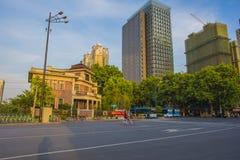 La Chine Jiangsu Nanjing sous le terminal, Photographie stock libre de droits