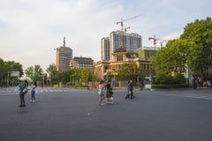 La Chine Jiangsu Nanjing sous le terminal, Photos libres de droits
