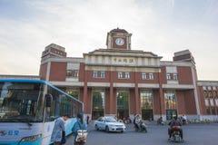 La Chine Jiangsu Nanjing sous le terminal, Photos stock