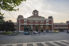 La Chine Jiangsu Nanjing sous le terminal, Images libres de droits