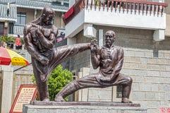 La Chine, le monastère de Shaolin photos libres de droits
