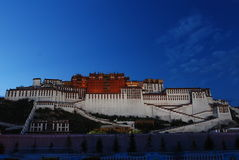 La Chine le Palais du Potala à Lhasa, Thibet Photo stock