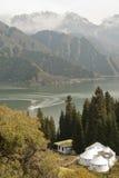 La Chine le Xinjiang Tianshan Tianchi Image stock