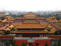 La Chine, Pékin, ville interdite Image libre de droits
