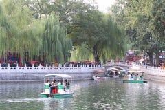 La Chine : Shichahai Photographie stock libre de droits
