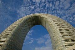 La Chine, un hôtel de luxe dans le lac Tai Photo stock