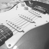 La chitarra Immagine Stock