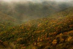 La chute colore la Caroline du Nord 2014 Photos stock