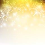La chute de neige avec l'élément de bokeh et d'éclairage soustraient le fond Photo libre de droits