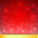 La chute de neige avec l'élément de bokeh et d'éclairage soustraient le fond Image stock