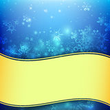 La chute de neige avec l'élément de bokeh et d'éclairage soustraient le fond Photos libres de droits