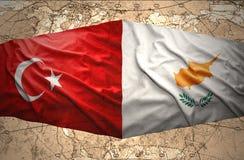La Chypre et la Turquie Photographie stock